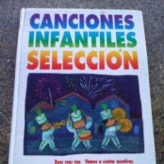 Libros de segunda mano: CANCIONES INFANTILES SELECCION -- ANAYA 1995 --. Lote 97071447