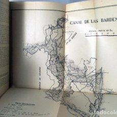 Libros de segunda mano: ZARAGOZA. CONSEJO ECÓNOMICO SINDICAL. (...MARGEN IZQUIERDO DEL EBRO, CANFRANC, BÁRDENAS, MONEGROS. Lote 97131819