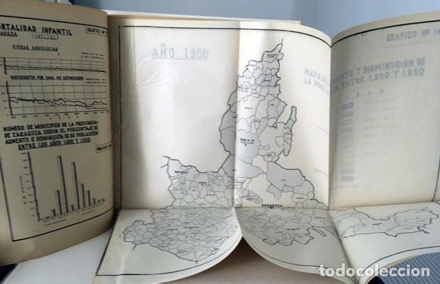 Libros de segunda mano: Zaragoza. Consejo Ecónomico Sindical. (...margen izquierdo del Ebro, Canfranc, Bárdenas, Monegros - Foto 2 - 97131819
