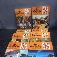 Libros de segunda mano: LOS HOLLISTER - LOTE DE 18 EJEMPLARES / AUTOR : JERRY WEST. Lote 97249239