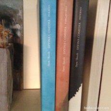 Libros de segunda mano: LA DIVINA COMEDIA. ILUSTRADA POR BARCELÓ. TRES TOMOS. Lote 97340503