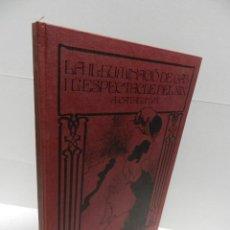 Libros de segunda mano: LA IL.LUMINACIO DE GAS I L´ESPECTACLE DEL XIX A CATALUNYA CATALANA GAS Y ELECTRICITAT BARCELONA 1980. Lote 97372539