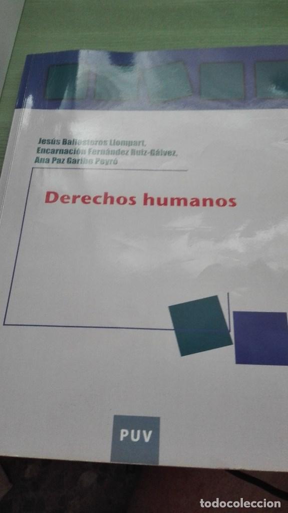 LIBRO DERECHOS HUMANOS DE LA UNIVERSIDAD DE VALENCIA (Libros de Segunda Mano - Pensamiento - Otros)