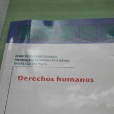 Libros de segunda mano: LIBRO DERECHOS HUMANOS DE LA UNIVERSIDAD DE VALENCIA. Lote 115439598
