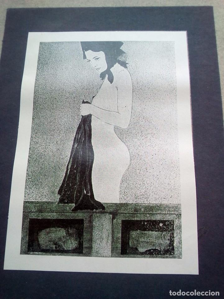 TUBAL GARCIA LORCA CARTEL EXPOSICION ARTISTA SEVILLANO SOLRAC LIBRERIA FULMEN 1971 44X31 FEMINISMO (Libros de Segunda Mano - Bellas artes, ocio y coleccionismo - Otros)