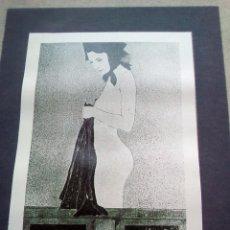 Libros de segunda mano: TUBAL GARCIA LORCA CARTEL EXPOSICION ARTISTA SEVILLANO SOLRAC LIBRERIA FULMEN 1971 44X31 FEMINISMO. Lote 97766195
