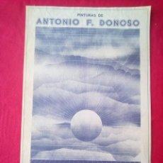 Libros de segunda mano: TUBAL CARTEL ANTONIO F DONOSO EXPOSICION LIBRERIA FULMEN SEVILLA 1975 64 CMS FEMINISMO. Lote 97775983