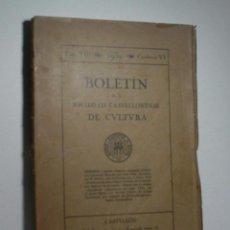 BOLETIN DE LA SOCIEDAD CASTELLONENSE DE CULTURA. TOMO XIII- NOVIEMBRE-DICIEMBRE 1932 - CUADERNO VI
