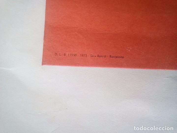 Libros de segunda mano: CARTEL SEIX BARRAL POESIA 1973 62X42 CM - Foto 5 - 97833615