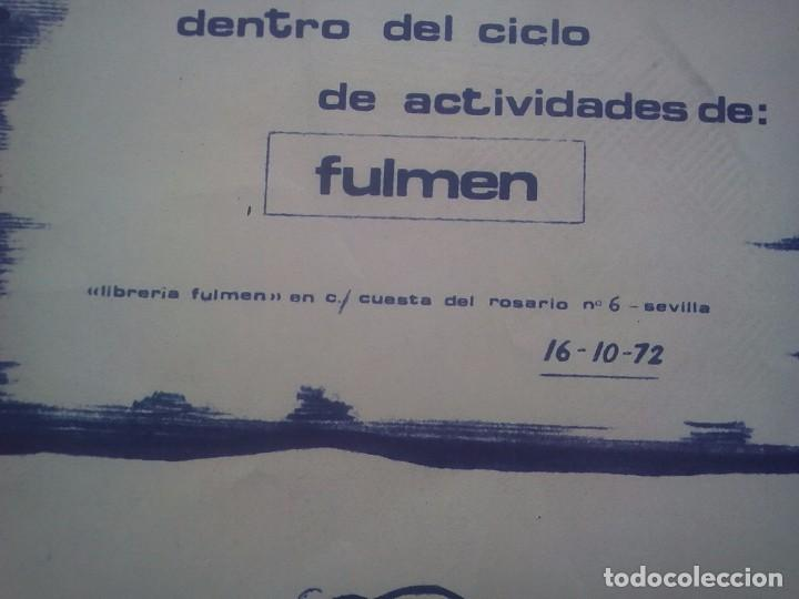 Libros de segunda mano: TUBAL 1972 CARTEL EXPOSICION ANTONIO F DONOSO SALA FULMEN SEVILLA 55X36 CMS FEMINISMO - Foto 2 - 97836372