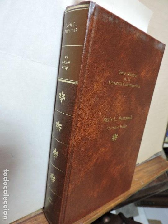 EL DOCTOR JIVAGO. PASTERNAK, BORIS L. COL. OBRAS MAESTRAS DE LA LITERATURA CONTEMPORÁNEA, 43. (Libros de Segunda Mano - Bellas artes, ocio y coleccionismo - Otros)