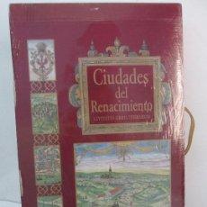 Libros de segunda mano: CIUDADES DEL RENACIMIENTO. CIVITATES ORBIS TERRARUM. H.F ULLMANN. NUEVO SIN DESPRECINTAR. VER FOTOS. Lote 97845987