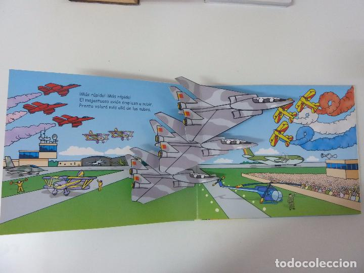 Libros de segunda mano: SUPERVELOCES. LIBRO POP UP. EDICIONES SALDAÑA. 2007 - Foto 4 - 97848479