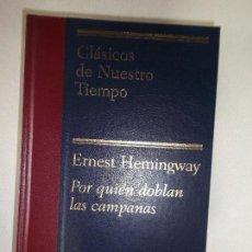 Libros de segunda mano: ERNEST HEMINGWAY POR QUIEN DOBLAN LAS CAMPANAS PLANETA 1969. Lote 97928351