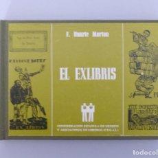 Libros de segunda mano: EL EXLIBRIS // FERNANDO HUARTE MORTON // 1987 // TAPA DURA // PROFUSAMENTE ILUSTRADO. Lote 97987863