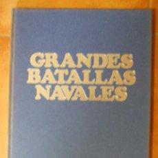 Libros de segunda mano: GRANDES BATALLAS NAVALES - BIBLIOTECA DE LA VANGUARDIA 1981 - 770GR - 275PAG. Lote 97999307