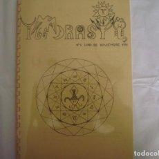 Libros de segunda mano: LIBRERIA GHOTICA. IGGDRASIL. Nº1. LUNA DE NOVIEMBRE 1991. RARO LIBRO REVISTA DE MAGIA. MUY ILUSTRADO. Lote 98000315