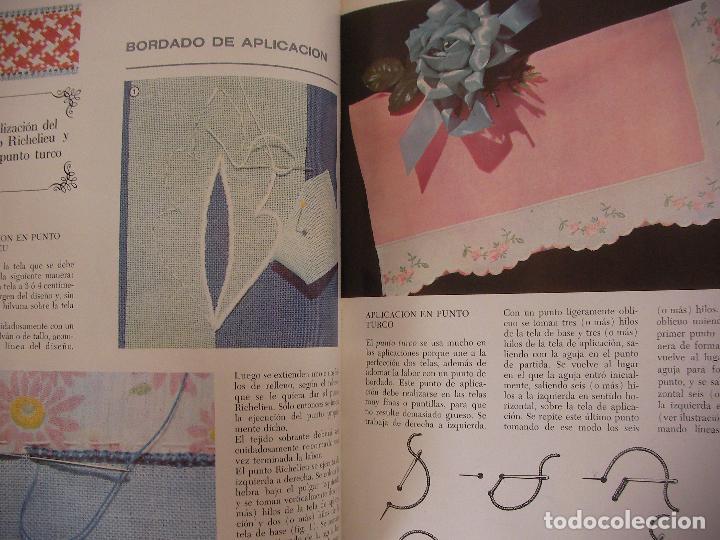 Libros de segunda mano: TRABAJOS MARAVILLOSOS - ENCICLOPEDIA MANOS MARAVILLOSAS - TRABAJOS DE BORDADOS, TRAJES MUÑECAS Y OTR - Foto 2 - 98002983
