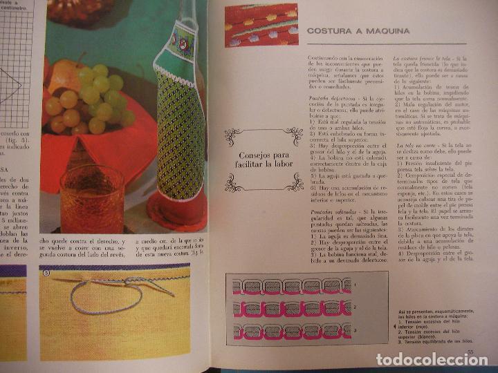 Libros de segunda mano: TRABAJOS MARAVILLOSOS - ENCICLOPEDIA MANOS MARAVILLOSAS - TRABAJOS DE BORDADOS, TRAJES MUÑECAS Y OTR - Foto 3 - 98002983