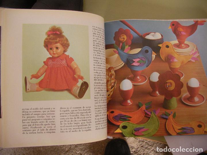 Libros de segunda mano: TRABAJOS MARAVILLOSOS - ENCICLOPEDIA MANOS MARAVILLOSAS - TRABAJOS DE BORDADOS, TRAJES MUÑECAS Y OTR - Foto 5 - 98002983