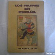 Libros de segunda mano: LIBRERIA GHOTICA. AGUDO RUIZ. LOS NAIPES EN ESPAÑA. 2000. CATALOGO. FOLIO. MUY ILUSTRADO. MAGIA.. Lote 98003039