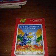 Libros de segunda mano: PAÍS DE CABALLOS SALVAJES. LYNN SONBERG. ELIGE TU PROPIA AVENTURA. EST15B5. Lote 138063566