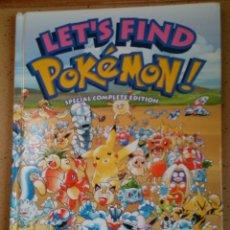 Libros de segunda mano: LETS FIND POKEMON SPECIAL COMPLETE EDITION 2006. Lote 98072155