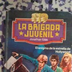 Libros de segunda mano: EL ENIGMA DE LA ESTRELLA DE HOLLYWOOD - LA BRIGADA JUVENIL - Nº 2 - JONATHAN GIBB. Lote 98120107