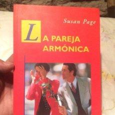 Libros de segunda mano: ANTIGUO LIBRO LA PAREJA ARMÓNICA ESCRITO POR SUSANA PAGE AÑO 1998. Lote 98213915
