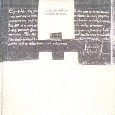 Libros de segunda mano: IGNACIO DE LOYOLA, MAGISTER ARTIUM EN PARÍS 1528-1535. JULIO CARO BAROJA. / ANTONIO BERISTAIN.. Lote 98219423