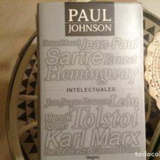 Libros de segunda mano: INTELECTUALES. PAUL JOHNSON. Lote 98250956