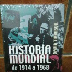 Libros de segunda mano: HISTORIA MUNDIAL DE 1914 A 1968 - DAVID THOMSON - NUEVO (CON PRECINTO). Lote 98334803