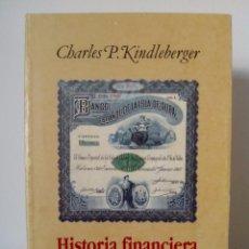 Libros de segunda mano: CHARLES KINDLEBERGER. HISTORIA FINANCIERA DE EUROPA.EDITORIAL CRÍTICA.1988.. Lote 98335879