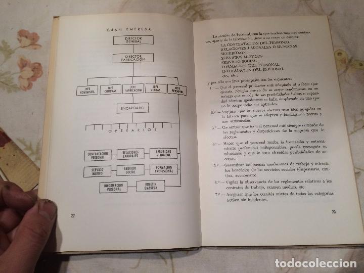 Libros de segunda mano: Antiguo libro el aprendiz y su nuevo mundo del trabajo escrito por José Vilaseca Ballvé año 1965 - Foto 4 - 98393031