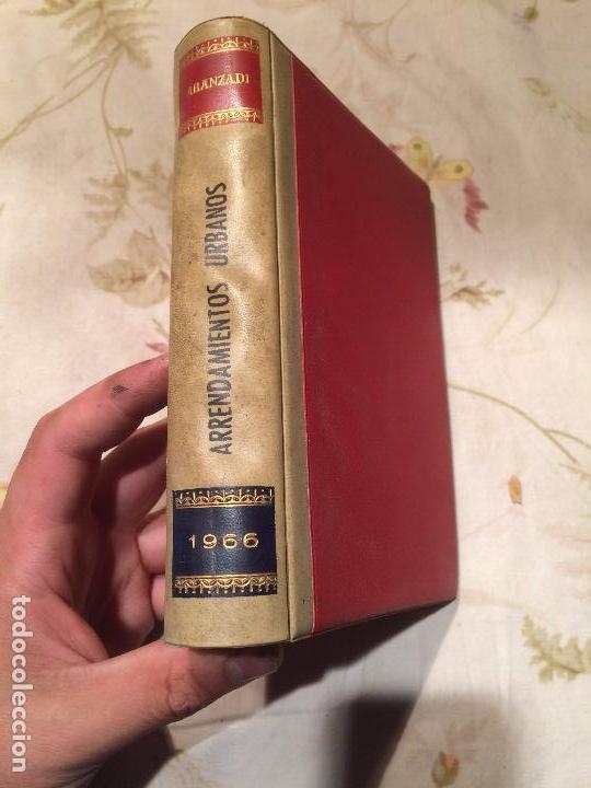 ANTIGUO LIBRO ARRENDAMIENTO URBANO POR ARANZADI AÑO 1966 (Libros de Segunda Mano - Ciencias, Manuales y Oficios - Otros)