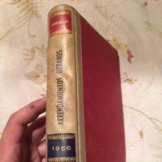 Libros de segunda mano: ANTIGUO LIBRO ARRENDAMIENTO URBANO POR ARANZADI AÑO 1966. Lote 98408391