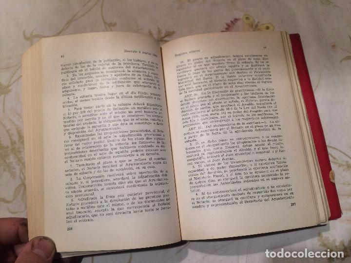 Libros de segunda mano: Antiguo libro arrendamiento urbano por Aranzadi año 1966 - Foto 4 - 98408391