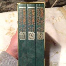Libros de segunda mano: ANTIGUO 3 LIBRO / LIBROS LA SARDA EL FET HISTÒRIC, EL FET LITERARI ÁRTISTIC I SOCIAL EDIT. BRUGUERA . Lote 98414511