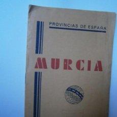 Libros de segunda mano: LIBROS ARTE MURCIA MAPAS - MURCIA PROVINCIAS DE ESPAÑA MAPA INDICE TOPONIMICO TELEFONOS Y TELEGRAFOS. Lote 98440611