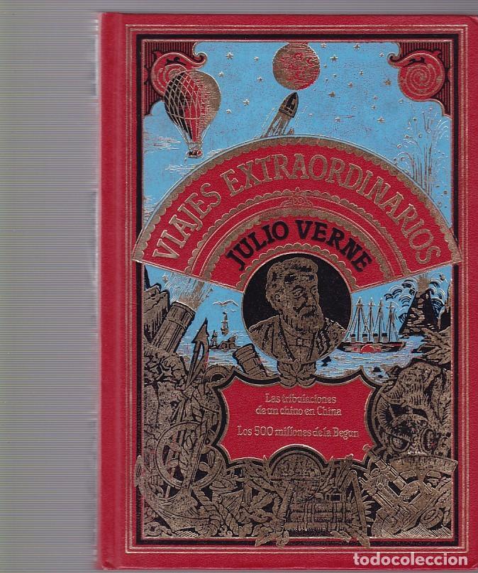 JULIO VERNE - VIAJES EXTRAORDINARIOS - CLUB INTERNACIONAL DEL LIBRO 1982 (Libros de Segunda Mano - Literatura Infantil y Juvenil - Otros)