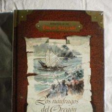 Libros de segunda mano: LOS NAUFRAGOS DEL OREGON. AVENTURAS DE EMILIO SALGARI. Lote 98576791
