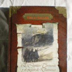Libros de segunda mano: EL CAPITAN TORMENTA Y EL LEON DE DAMASCO I. AVENT. E. SALGARI. Lote 98576995