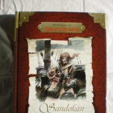 Libros de segunda mano: SANDOKAN. AVENTURAS DE EMILIO SALGARI. Lote 98577275