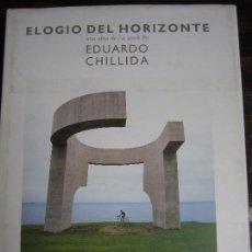Libros de segunda mano: ELOGIO DEL HORIZONTE. UNA OBRA DE EDUARDO CHILLIDA. GIJON. CAJA DE AHORROS DE ASTURIAS. 1990. TAPA D. Lote 98610719