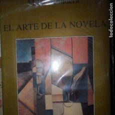 Libros de segunda mano: EL ARTE DE LA NOVELA, MILAN KUNDERA, ED. TUSQUETS. Lote 98641775