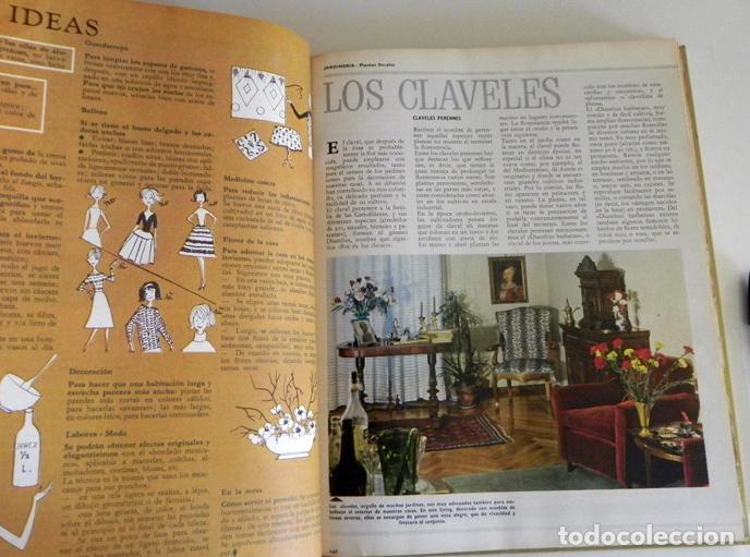 Libros de segunda mano: FEMIRAMA VOL 1 LIBRO DE DECORACIÓN JARDINERÍA COSTURA CONSEJOS SALUD MUEBLES COCINA IDEAS GUÍA CASA - Foto 11 - 98646459