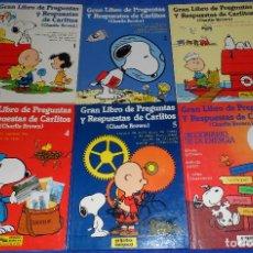 Libros de segunda mano: GRAN LIBRO DE PREGUNTAS Y RESPUESTAS DE CARLITOS - GRIJALBO. Lote 98688743