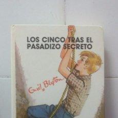 Libros de segunda mano: LOS CINCO TRAS EL PASADIZO SECRETO Nº 36 - ENID BLYTON - EDITORIAL JUVENTUD. Lote 98721695
