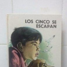 Libros de segunda mano: LOS CINCO SE ESCAPAN Nº 24 - ENID BLYTON - EDITORIAL JUVENTUD. Lote 98721751