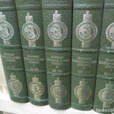 Libros de segunda mano: DICCIONARIO BOMPIANI DE AUTORES LITERARIOS. 5 TOMOS. OBRA COMPLETA. Lote 98894979